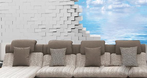 Carta da parati personalizzata per trasformare e arredare for Crea la tua casa 3d
