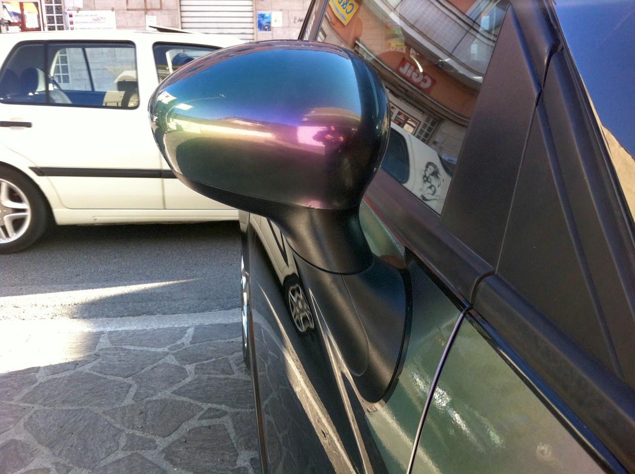 Metallizzato car wrapping Roma